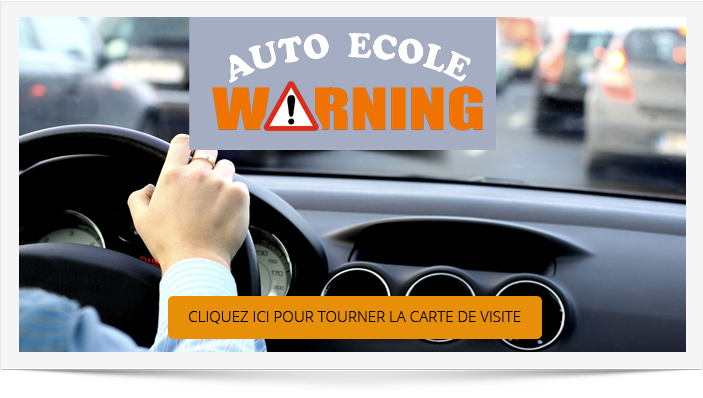 Agde Auto ecole Warning